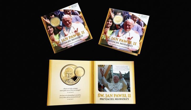 Blistry Mennicy Jan Paweł II