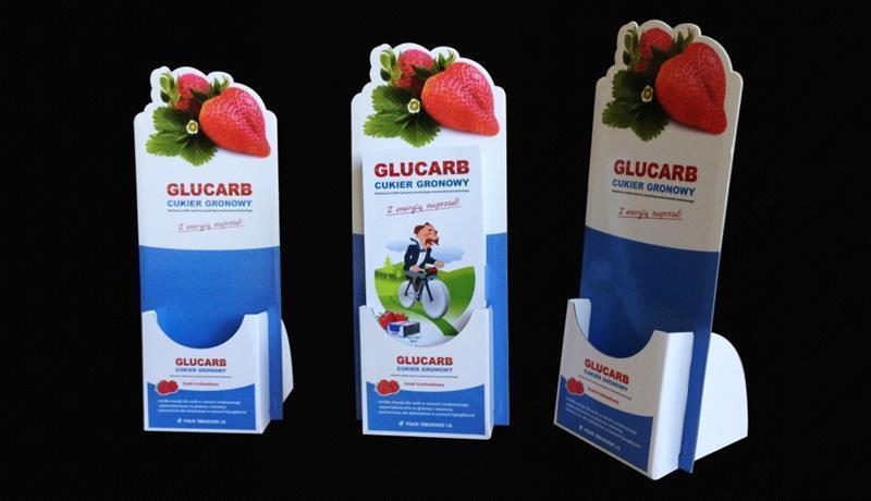 Stojak na ulotki Glucarb